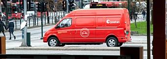 Posten tar i bruk 22 elektriske Maxus-varebiler