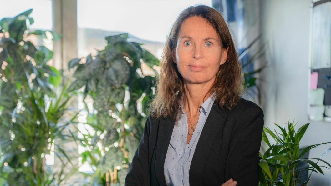forteller miljø- og revisjonssjef i PostNord, May-Kristin Willoch er stolt av de nye klimamålene til PostNord.