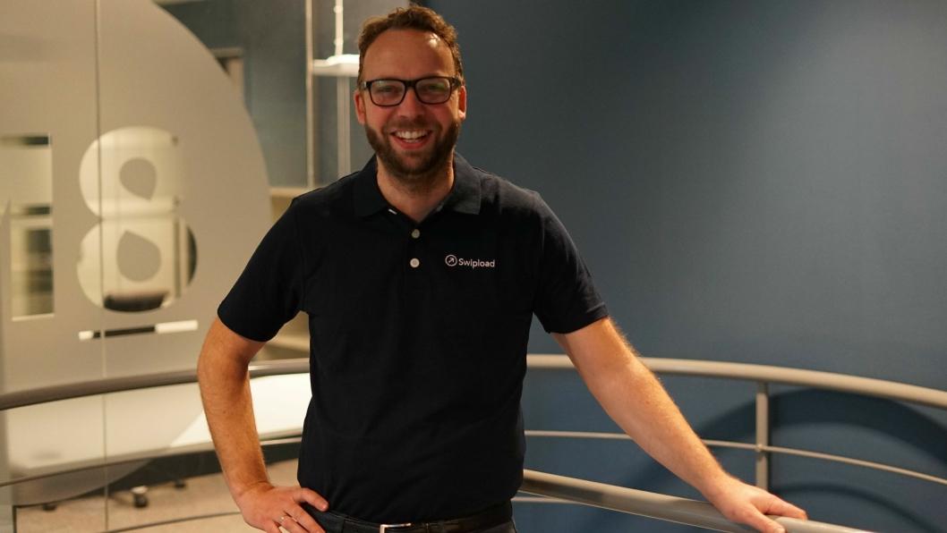 Daglig leder Stian Vere i Swipload etablerer plattform for å gjøre gode og seriøse norske transportører enda bedre.