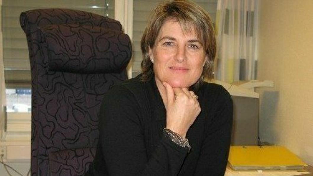 Mona Juell tiltrer sjefs-stillingen i DHL Global Forwarding, Norge i januar. Foto: Per Dagfinn Wolden