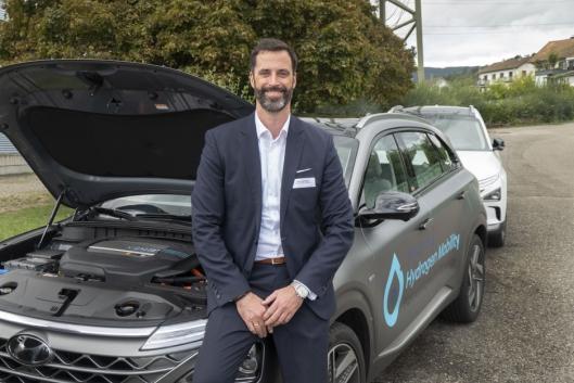 Mark Freymüller kan fortelle om interesse for Hyundai lastebiler også fra norske kunder.