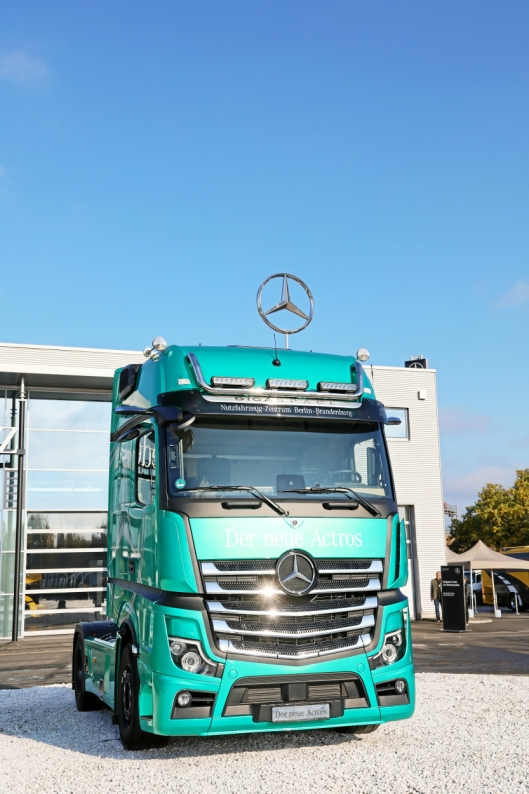 Truck of the Year 2020, Mercedes-Benz Actros.