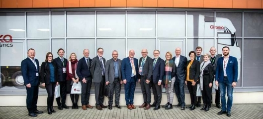 Norsk delegasjon troppet opp hos Girteka