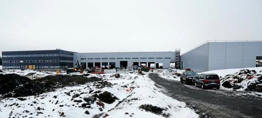 Kranselag på Hesselberg-bygget
