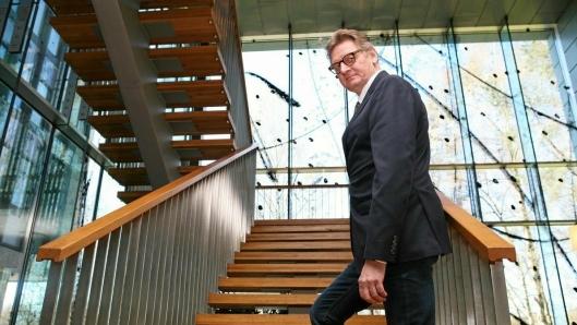 NHO LTs kompetanseleder Claus Haals tar stadig nye steg for Speditørskolen og rekrutteringen til bransjen. Foto: Per Dagfinn Wolden