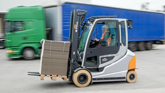 Tidligere i år lanserte Still den nye versjonen motvektstrucken RX60, som de håper skal bli en storselger i Norge.