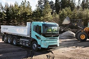 Nye el-lastebiler fra Volvo