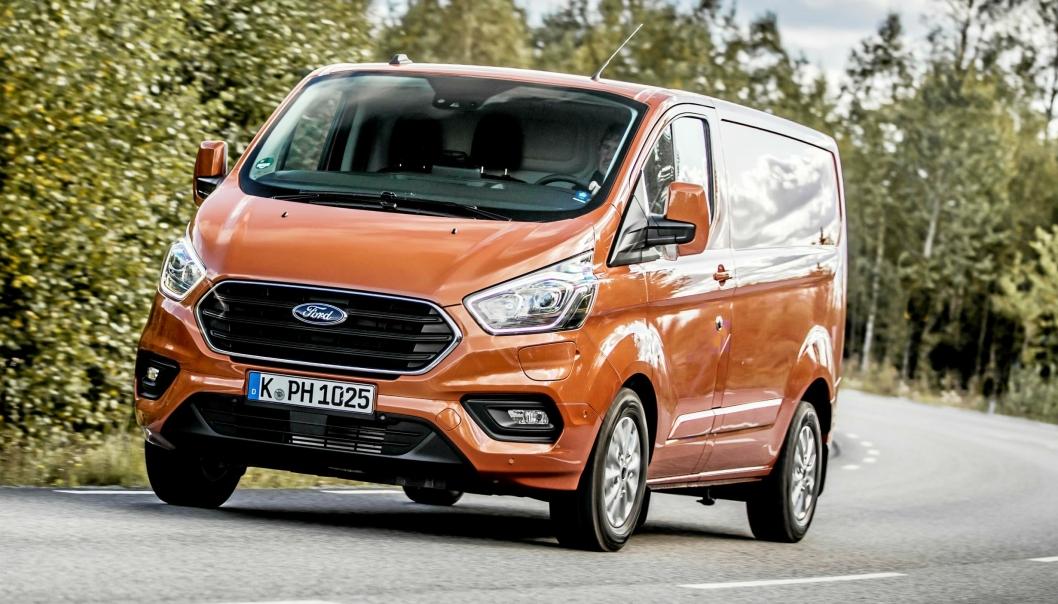 Ford Transit Custom er den første plug-in hybriden i varebilmarkedet. De første bilene skal ankomme Norge i januar