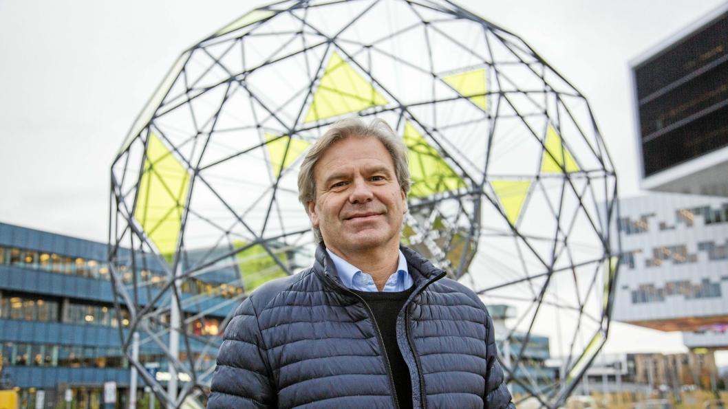 ENGASJERT: Knut Fredrik Ramstad var på 1990-tallet med på å bygge opp finn.no. Nå håper han på suksess med Mixmove.