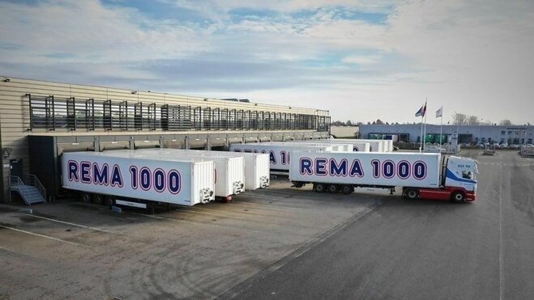 Med Rema-konsernets over 100 kjøle/frysetrailere kan det spares over 570.000 liter diesel årlig.