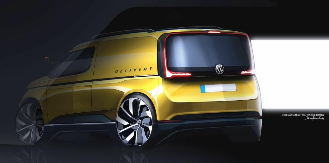 Designet på bilen blir mer markant med skarpere linjer enn tidligere dersom skissene stemmer.