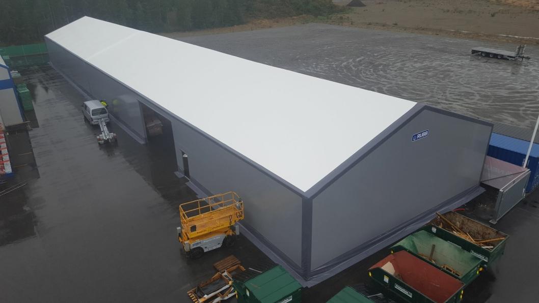 MANGE MULIGHETER: Renthall leier ut ulike typer haller til blant annet offshore-, industri- og logistikk-aktører.