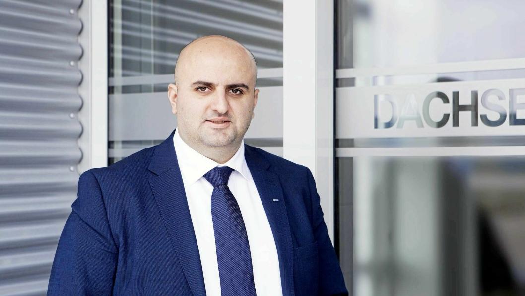 Armend Krasniqi har blitt forfremmet til general manager for Dachser Norway.
