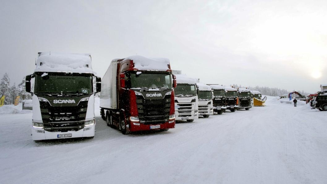 I år er det Scania Winter i Trysil for 10.gang.