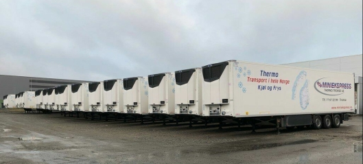 20 kjøletrailere til Miniekspress