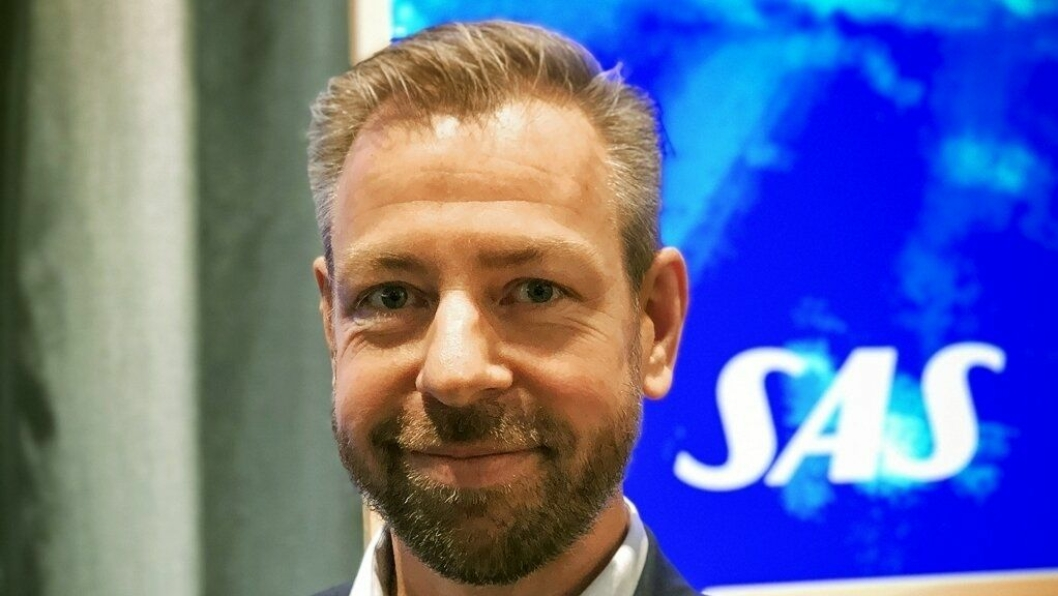 SAS Norges nye pressesjef, John Eckhoff.