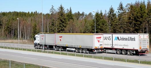 Nye regler for vogntogvekt og -lengde i Norge