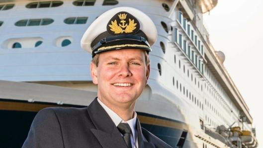 Havnedirektør i Karmsund Havn, Tore Gautesen, gleder seg over stor vekst i containertrafikken over havnen.