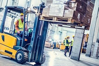 Sterkt truckmarked tross nedgang