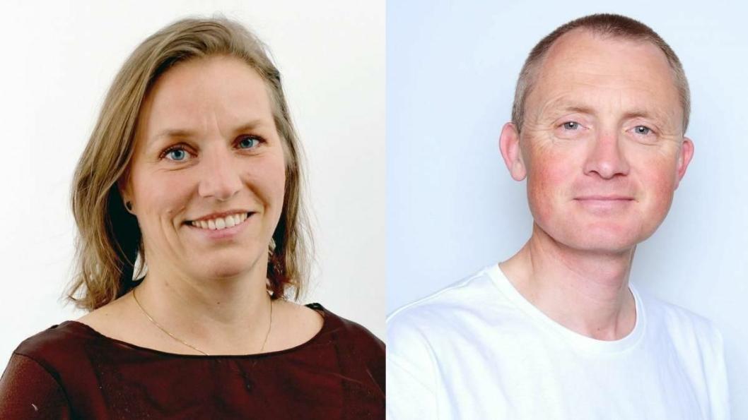 Nye NLF-folk: Helen Karlsen (48) blir ny kommunikasjonssjef, mens Jone Klingsheim (50) blir ny bedriftsrådgiver. Foto: Privat