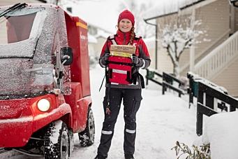 Posten vant avis-levering