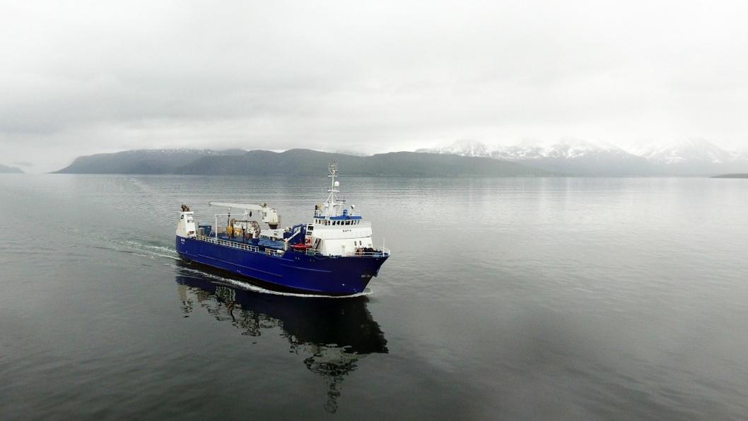 «SAFIR» har sin første offisielle avgang fra Trondheim fredag 24.januar med ankomst Kirkenes torsdag 30.januar.