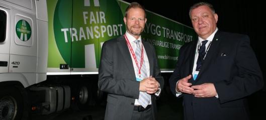 Transportnæringen: - Gratulerer og lykke til