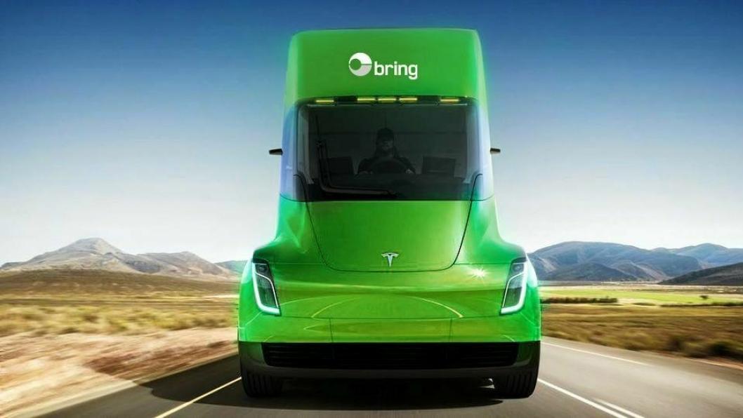 Posten Norge er blant dem som har bestilt Tesla Semi.