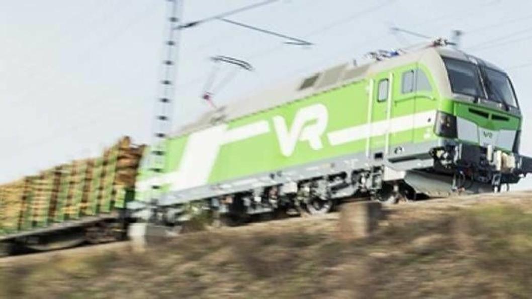 Det finske, statlige togselskapet VR Cargo skal stå for transporten. (Foto: VR Group)