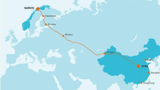 Det blir nok sommer før laksetoget mellom Narvik og Kina kan realiseres.