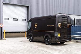 UPS bestiller 10.000 varebiler