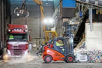 Leverte biogass-truck til Roaf