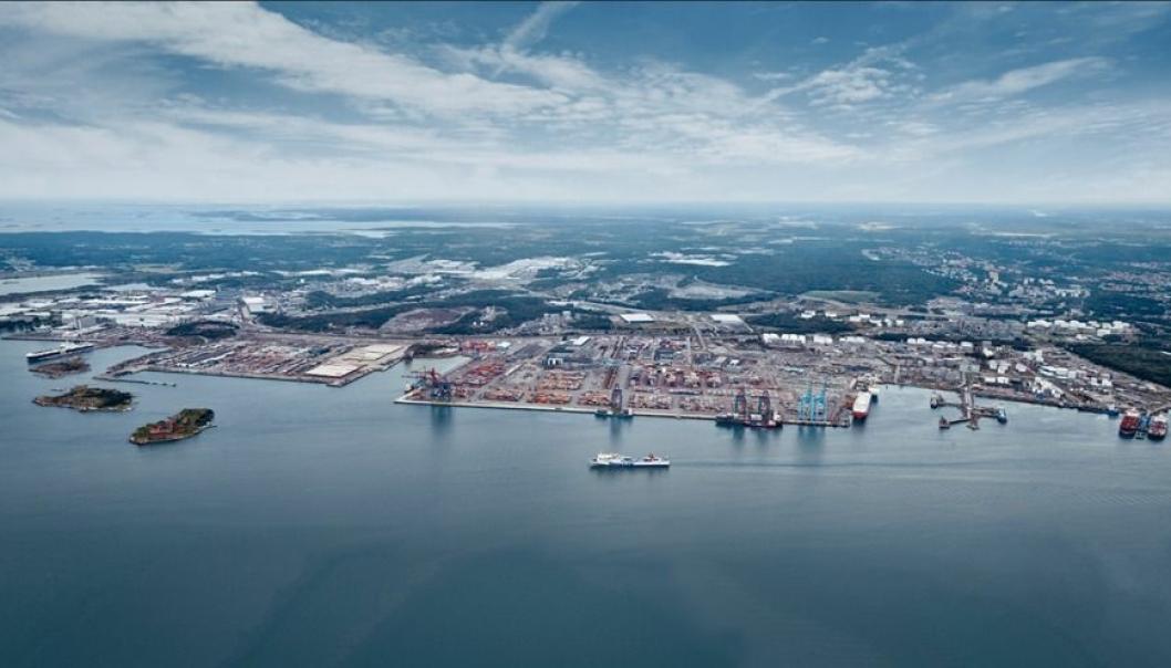 - Å be om en helseerklæring er ikke komplisert eller nytt, men en rutine for fartøyene og vi er vant til, oppyser Göteborgs Hamn AB.