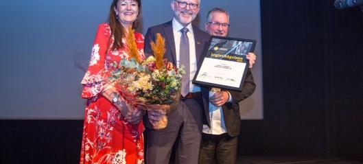 Logistikkprisen til Kjell Larsen i Pipelife