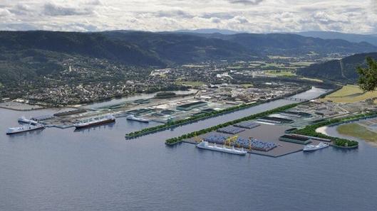 Orkla Shipping & Trading har en svært sentral rolle i Orkanger Havn, logistikkleddet 35 kilometer sørvest for Trondheim som tar imot importgodset til Trøndelag sjøveien fra kontinenthavnene.
