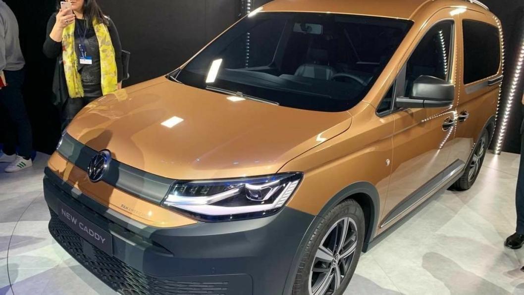 5. generasjon av Volkswagen Caddy ble avduket i Tyskland 20. februar 2020.