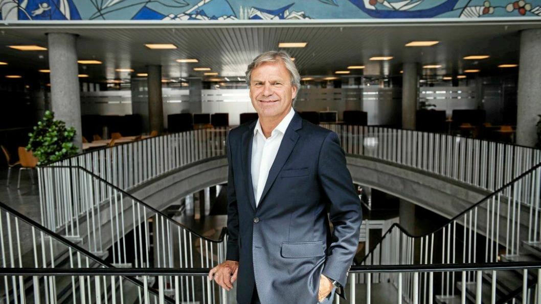 Mixmoves CEO Knut Fredrik Ramstad gleder seg over nye krefter på investorsiden.