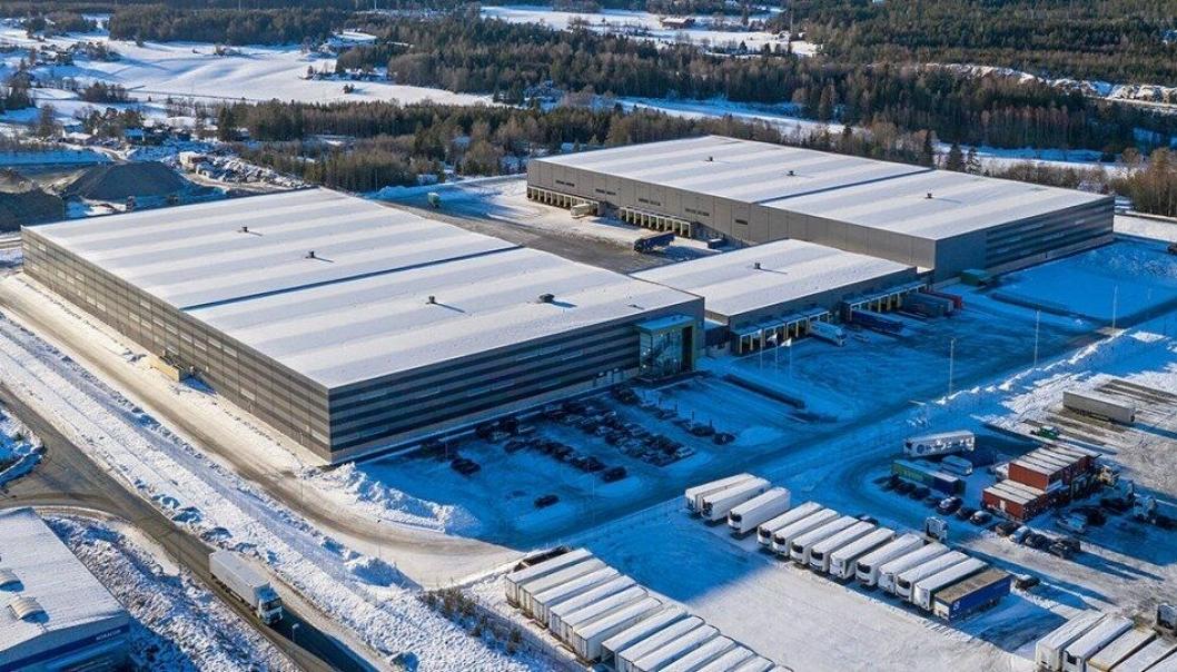 I Prime Cargo-terminalen i Vestby utenfor Oslo har The Green Deal tilgang til enorme nettverk- og logistikkressurser for å løse netthandel-returen.
