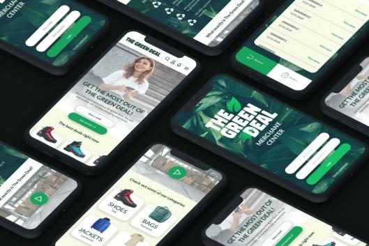 Ifølge gründerne av The Green Deal sparer du miljø og kostnader gjennom et mobilt nettverk.
