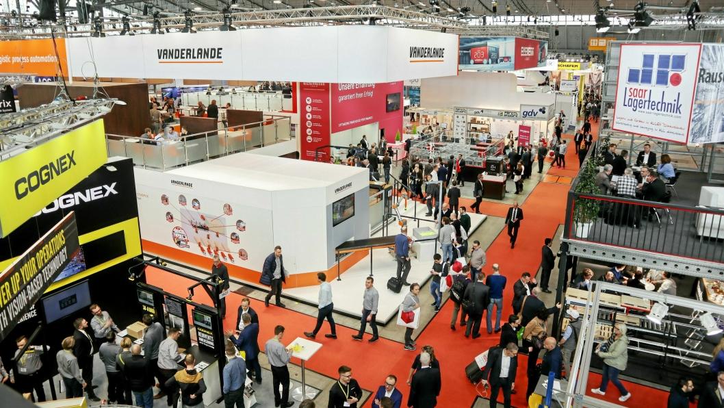 LogiMAT har de siste årene vokst til å bli den viktigste internlogistikkmessen i Europa.