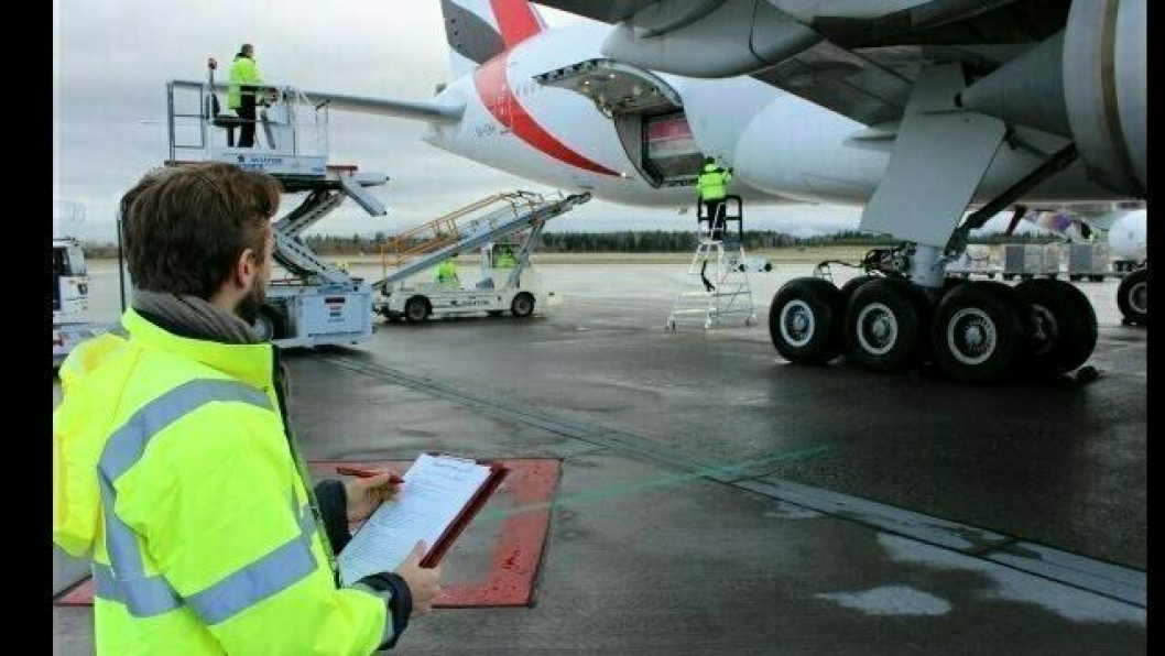 Flyfrakt er en viktig inntektskilde for flyselskapene, spesielt de med lange ruter.