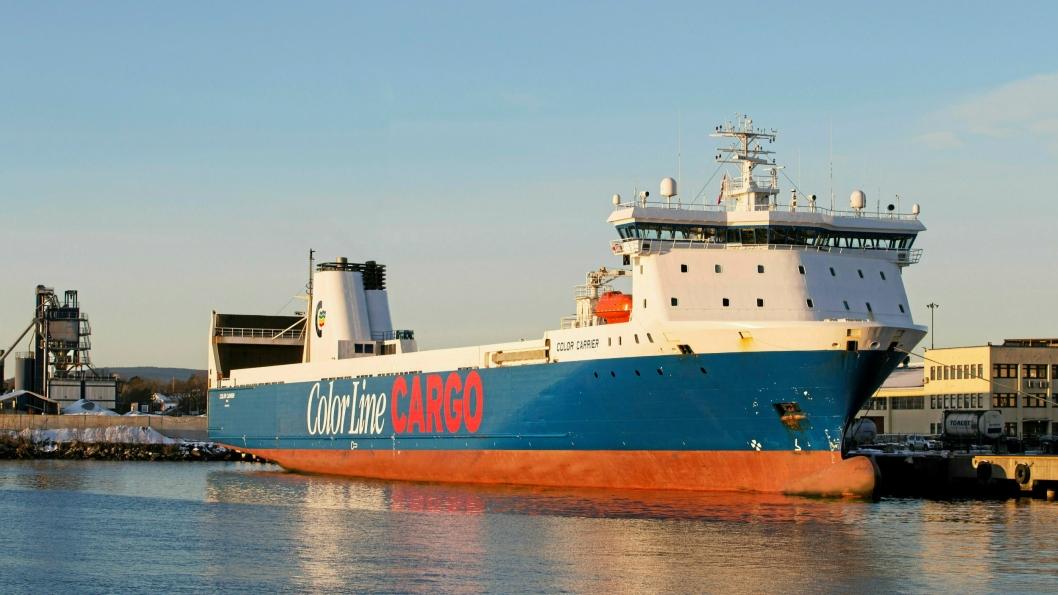 Gods-skipet Color Carrier vil fortsatt seile som normalt.