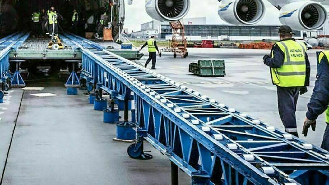 Schenkers fly-charter er et viktig bidrag til godstilførselen i en korona-krise.
