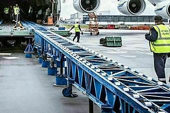 Schenker med charterfly i korona-krisen