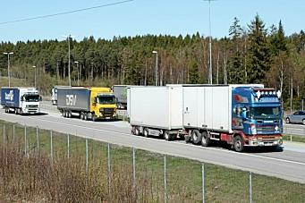 Utvider unntaket til å gjelde all transport