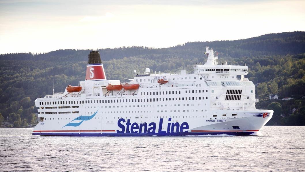 Stena Saga har seilt sin siste tur mellom Oslo og Fredrikshavn.