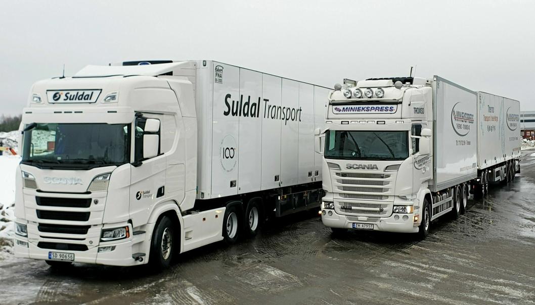 VOKSER: Nor-log Gruppen består av Suldal Transport og Miniekspress-selskapene, og kjøpte nylig Bring Frigo.