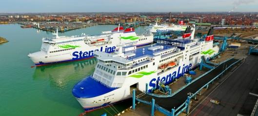 Intermodalt med Stena til Italia
