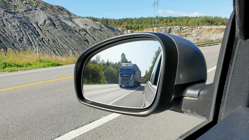 Koronakrisen skaper utfodringer for alle bransjer, også transportbransjen. Illustrasjonsfoto: Thomas Witsø-Bjølmer