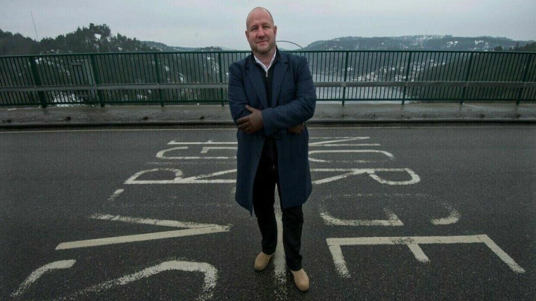 Ifølge KGH-direktør Lars Karlsson skal de grenseskridende godsstrømmene fortsette. (Foto: KGH)
